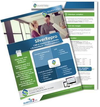 SilverRepro : paramétrage métier  pour les activités «Bureautique – Copieurs»